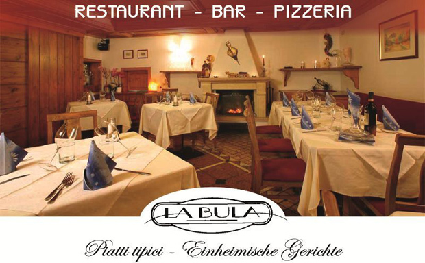 Welcone -  LA BULA your restaurant/pizzeria in Selva di Val Gardena